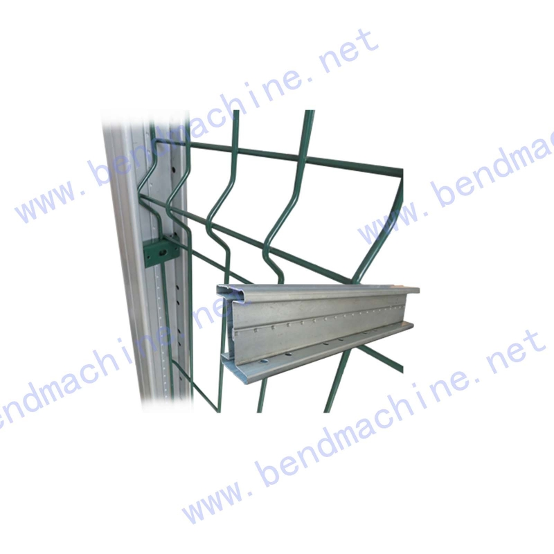 锁缝连接围栏立柱2