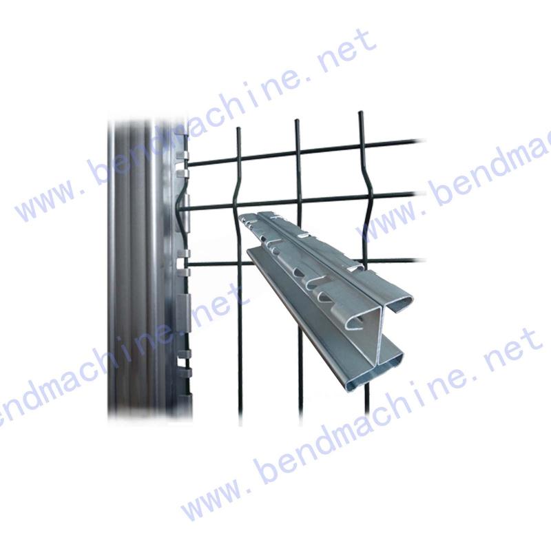 特殊弯边围栏立柱2