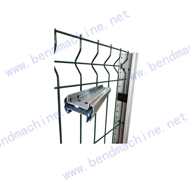 锁缝连接围栏立柱3